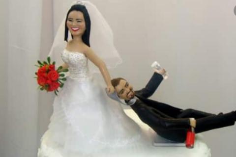Situações engraçadas em Casamentos