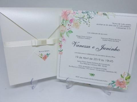 Convites de casamento que você precisa ver