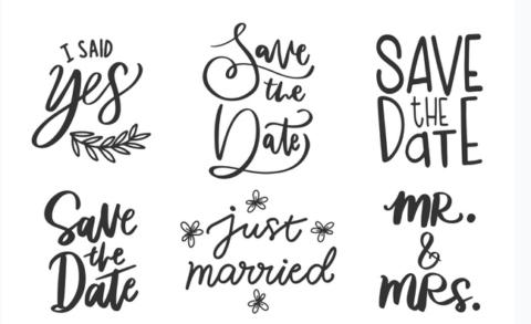 Letras para convite de casamento – Como fazer a escolha